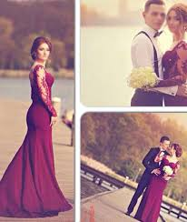 wedding dress maroon custom made maroon lace prom dresses formal dresses