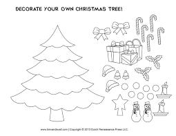 christmas tree coloring pages for kids printable christmas crafts u2013 happy holidays