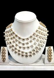 fashion pearl necklace set images Pearl necklace set jjr16388 jpg
