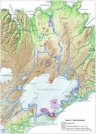 The National Map About The National Park Vatnajokull National Park