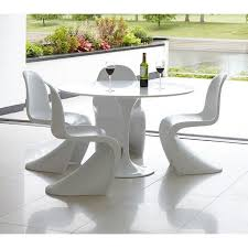 table ronde et chaises tables design au meilleur prix ensemble table repas tulipe 120cm