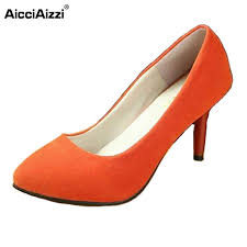brand ladies high heel shoes comfortable women pumps dress
