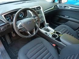 2011 Ford Fusion Interior Fusion Titanium Interior Picture Courtesy Michael Karesh The