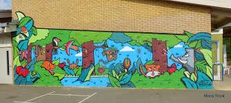 milton rd primary school cambridgeshire climbing wall mural a stunning climbing wall mural