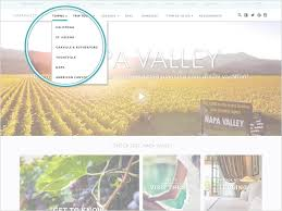 Napa Valley Winery Map Napavalley Com The Place To Plan Your Next Wine Country Vacation