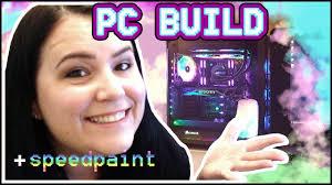 Computer Problems Meme - rainbow crystal computer build and speedpaint of bastard world