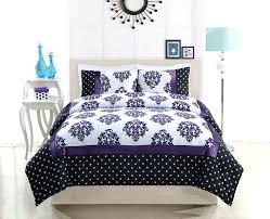 Black And White Comforter Full Intelligent Design Senna Damask Black White Comforter Set King