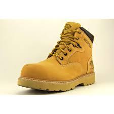 dickies brantley 6 u0027 u0027 mens size 10 tan wide steel toe leather work