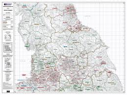 northern map os administrative boundary map local government sheet 5