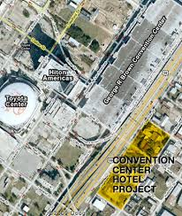 houston map convention center george r brown convention center swlot