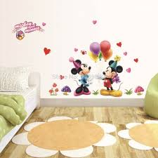 wall stickers picture more detailed about mickey mouse mickey mouse balloon background wall sticker removable stickers creative wallpaper decals living room art home