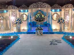 Home Wedding Reception Decoration Ideas Decor Blue Wedding Reception Decorations Centerpieces Fireplace