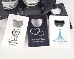 personalized bottle opener favor personalized credit card bottle opener many designs available
