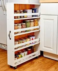 narrow storage cabinet for kitchen large slim rolling slide out kitchen bath or laundry