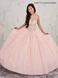 quinceanera dresses pink beaded halter quinceanera dress by s bridal m4q1009 abc fashion