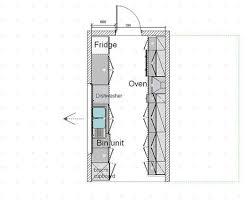 kitchen floorplans galley kitchen floor plans akioz com