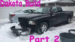 93 dodge dakota lift kit dodge dakota build 2 bumper install lift kit