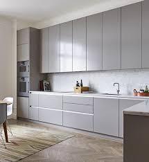 Contemporary White Kitchen Cabinets Grey Kitchen Kitchen Cabinets Decor Cabinet Decor And Grey
