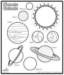 printable solar system coloring sheets kids solar system