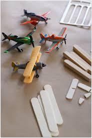 kids craft model plane inspired disney planes