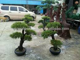 sjh100566 small decorative pine trees artificial bonsai tree