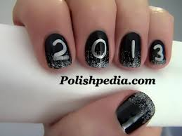 nail art design new year beautify themselves with sweet nails