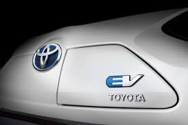 toyota hybrid logo all electric iq revealed but only 100 will be produced as toyota