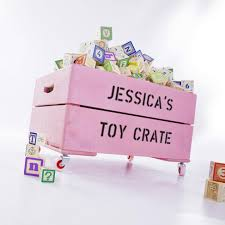 Toy Box Ideas Personalised Toy Box Storage Wooden Crate For Kids