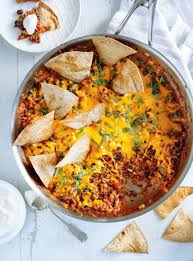cuisine mexicaine recette casserole mexicaine burrito ricardo