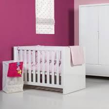 chambre bébé laqué blanc idée lit bebe laque blanc