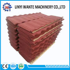 china excellent ornamental material form sand coated metal roofing