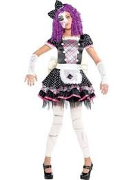 Halloween Voodoo Doll Costume Girls Voodoo Doll Costume Party Costumes U0026