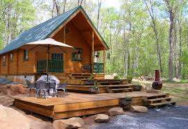 Camp Plans by Small Cabin Kits Vacationer Log Cabin Conestoga Log Cabins