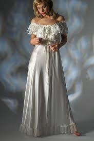 jane woolrich luxury satin nightdress 3271 p off the shoulder design