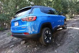 jeep trailhawk blue jeep compass trailhawk off road review autozaurus