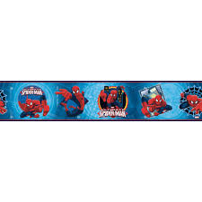 spiderman wallpaper border wallpaper inc com