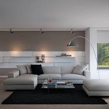 Grey Livingroom Modern White And Grey Living Room Centerfieldbar Com