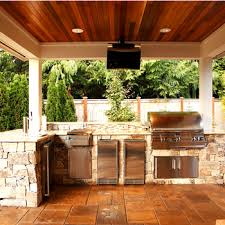 Outside Kitchen Designs Pictures Seattle Outdoor Kitchens Alderwood Landscaping