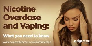 feeling light headed after smoking cigarette nicotine overdose and vaping what all vapers need to know ashtray