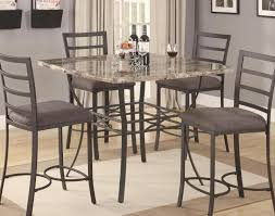 Marble Bistro Table Table Compelling Rectangle Pub Table With Stools Favorite