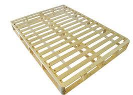 natural wood latex mattress foundation