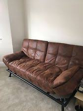 Texas Leather Sofa Bensons For Beds Texas Faux Leather Sofa Bed Ebay