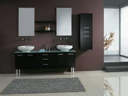 Futuristic Kitchen Designs Bathroom Double Floating Bathroom Vanity With White Ceramic Sink