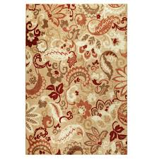 Hallway Runners Walmart by Better Homes And Gardens Paisley Print Area Rugs Or Runner
