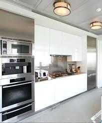 kitchen with stainless steel backsplash white kitchen with stainless steel backsplash kitchen stainless