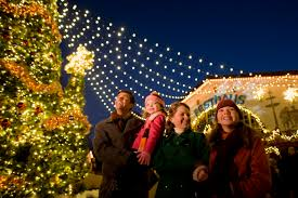 Family Garden Williamsburg Busch Gardens Christmas Town Virginia Is For Lovers