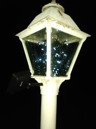 Solar Malibu Lights by Diy Solar Led Lamp Post Free Light Energy All Year Round And Looks