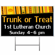banners com trunk or treat banners and signs