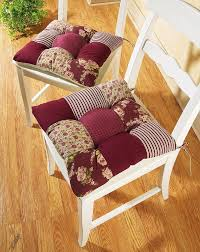 Gripper Chair Pads Chair Cushions With Ties French Country Cushions Decoration