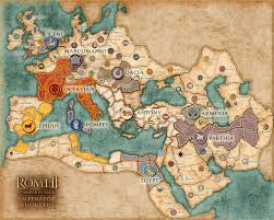 Map Rome We U0027re Breaking Up Rome Ii U0027s Imperator Campaign Map Is A Fractured